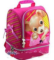 Рюкзак для маленьких девочек с собачкой