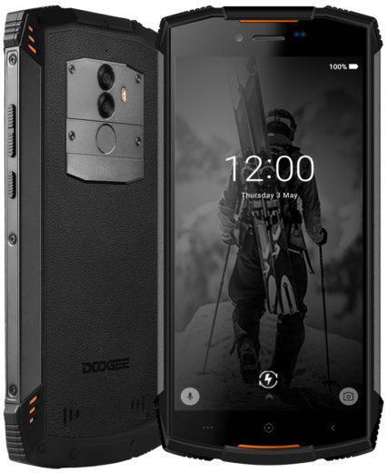 Защищенный смартфон Doogee S55 Orange 4/64gb ip68 MediaTek MT6750T 5500 мАч