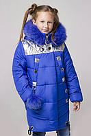 Теплое и элегантное детское пальто «Сильва», фото 1