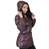 Пуховик куртка спортивная, женская adidas J Lgtwgt D Coat O13046 адидас