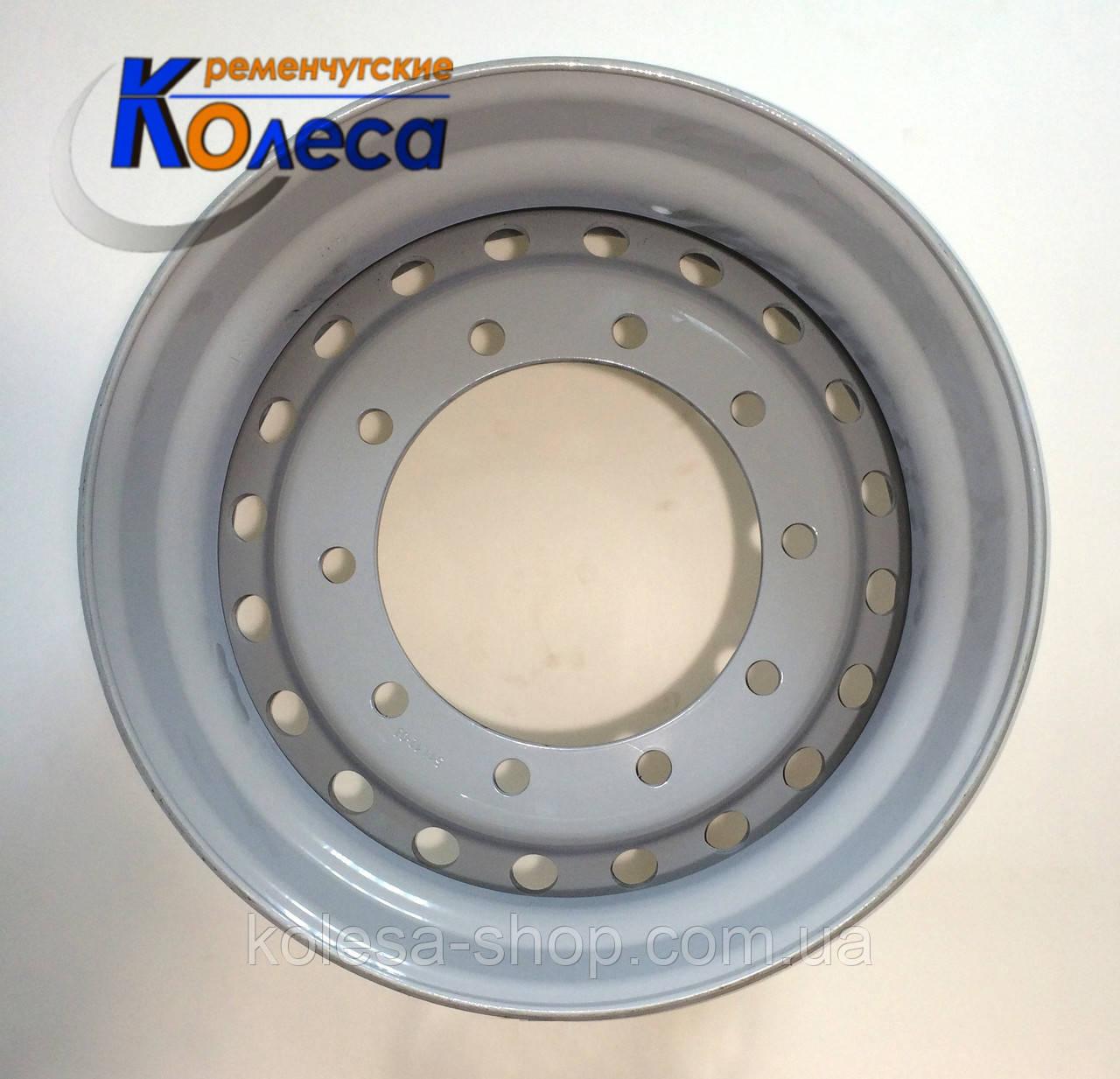 Колесный диск R22.5x11,75 крепеж 10x335 для прицепов, барабанный тормоз, Кременчуг - ООО КРЕМЕНЧУГСКИЕ КОЛЕСА  в Кременчуге