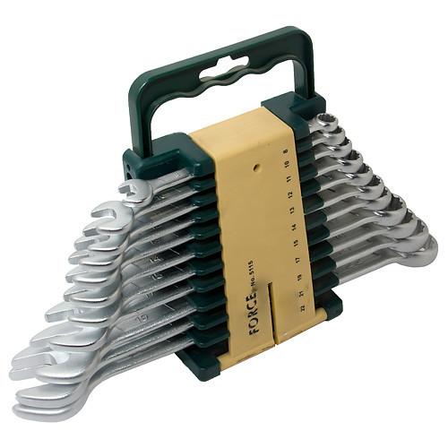 Набор рожково-накидных ключей  11пр. (8-22мм.) FORCE 5115