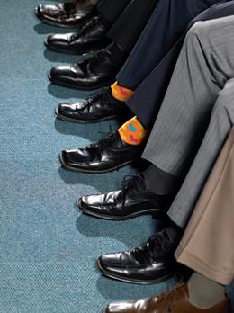 Цвет носков важен ?