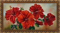 """Набор для вышивания бисером """"Китайская роза"""" P-122"""