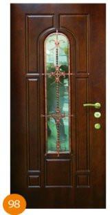 Двері броньовані одинарні 2