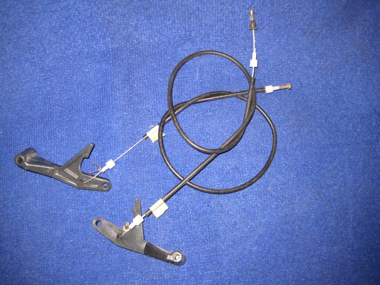 Трос капота гибкий с ручкой Славута ЗАЗ 1103 1105