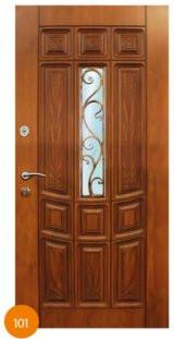 Двері броньовані одинарні 4