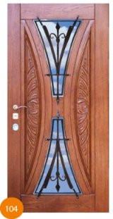 Двері броньовані одинарні 7