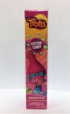 Парфюмированный спрей Trolls Parfum Body Splash Cotton Candy 50 ml, фото 2