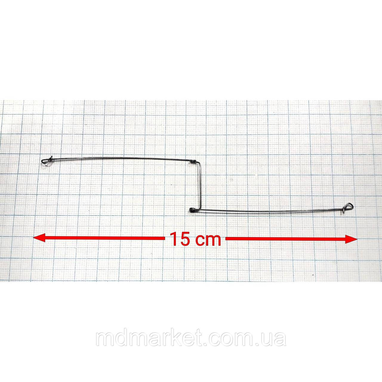 Рыболовный боковой отвод Z-образный 150мм
