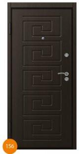 Двері броньовані одинарні 9