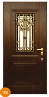 Двері броньовані одинарні 24
