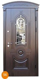 Двері броньовані одинарні 35