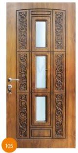 Двері броньовані одинарні 41