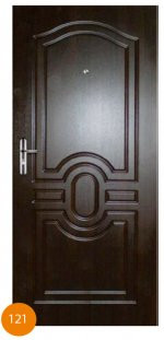 Двері броньовані одинарні 43