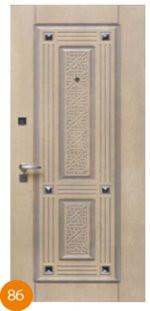 Двері броньовані одинарні 45