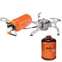 Мультипаливний пальник (газ, бензин, дизель) зі шлангом і підігрівом Tramp TRG-013