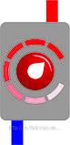 Котел Тесі КОП-Е, 3,2 кВт /220В без насоса, електричний, настінний, економ клас,, фото 4