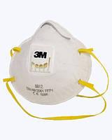 Респиратор противопылевой ЗМ 8812 (FFP1) с клапаном.