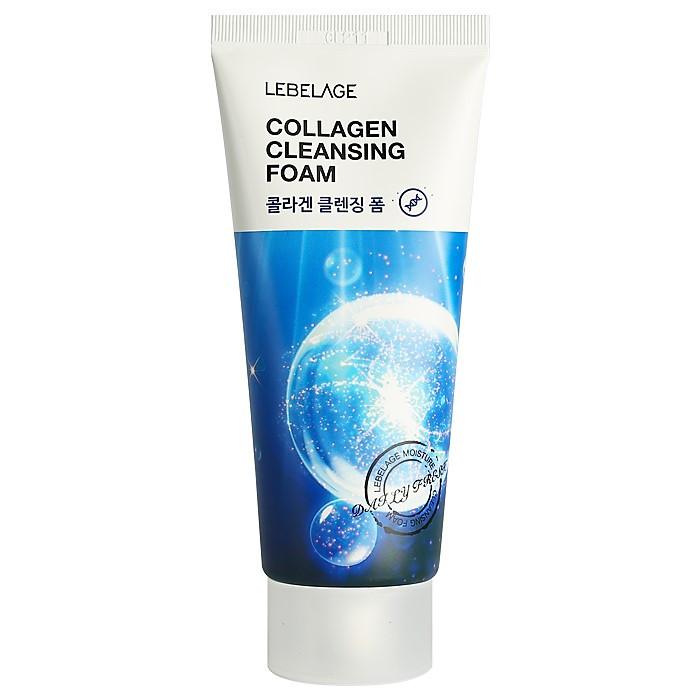 Пена для умывания с коллагеном Lebelage Cleansing Foam Collagen
