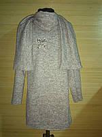 Туника Милана подросток р.128-146 серый, фото 1