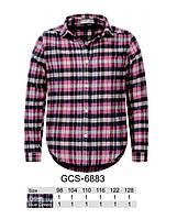 Рубашка для девочек Glo-story, 98-128 рр. Арт.GCS-6883, фото 1