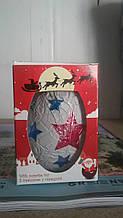Шоколадное яйцо Bimbaka 50г Новогодняя упаковка (Дед Мороз)
