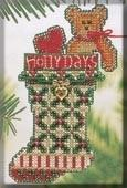 Набор для вышивки Mill Hill Holly Days Stocking