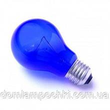 Лампочка синяя УФ 60Вт