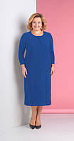 Платье Novella Sharm-3117-1 белорусский трикотаж, синий, 64, фото 1