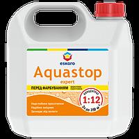 Eskaro Aquastop Expert  Мелкодисперсная глубокопроникающая грунтовка- концентрат 3 л