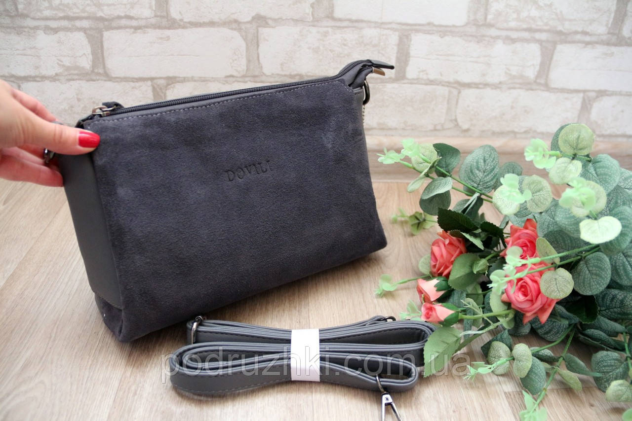 ca5261179d5f Женская маленькая замшевая сумочка клатч: продажа, цена в Запорожье ...