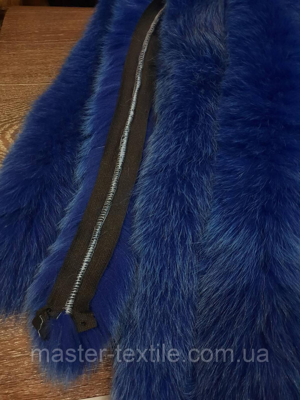 Опушка из натурального меха Песец 70см