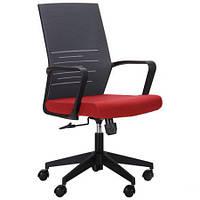 Компьютерное кресло Nitrogen LB графит/бургунди, TM AMF