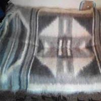 Одеяло, плед, покрывало 100% натуральная шерсть полуторное (145х210 см, 3,5 кг)