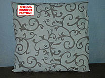 Наволочка бязь 70х70 - Вензель полоска светлая