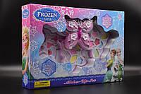 Косметика детская декоративная, Frozen 3  яруса, тени, помады, блески
