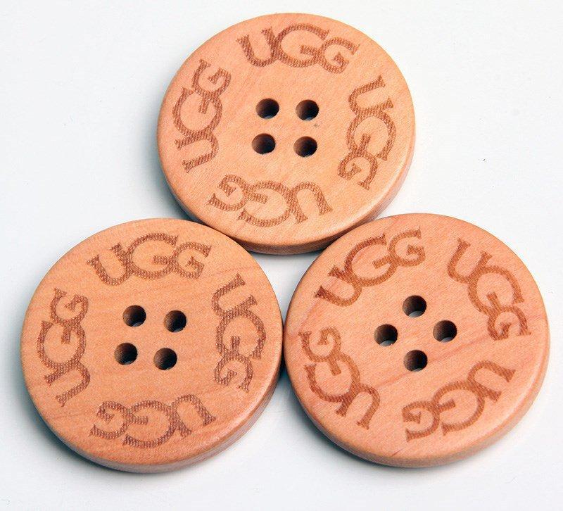 UGG Buttons Рыжие (.)