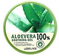 Глубоко увлажняющий и восстанавливающий структуру кожи гель Lebelage Jeju Moisture Aloe Vera 100% Soothing GEL