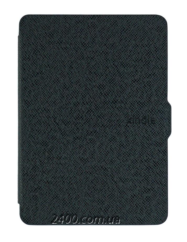 """Обложка - чехол для Amazon Kindle Paperwhite 1, 2 E-reader 6"""" электронной книги черная, полиуретановая"""