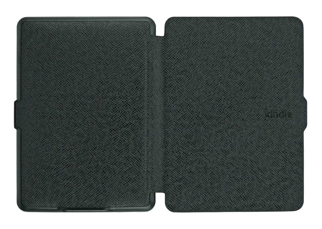 Чехол на Kindle Paperwhite 1/2/3 черный полиуретановый - внешний вид