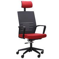 Компьютерное кресло Nitrogen HB графит/бургунди, TM AMF