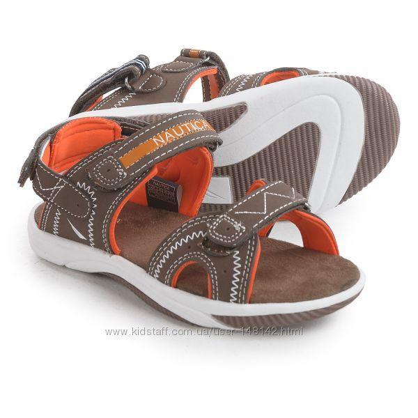Супер классные и удобные сандали спотривные  Nautiсa (Размер 21 см 2 US) (США)
