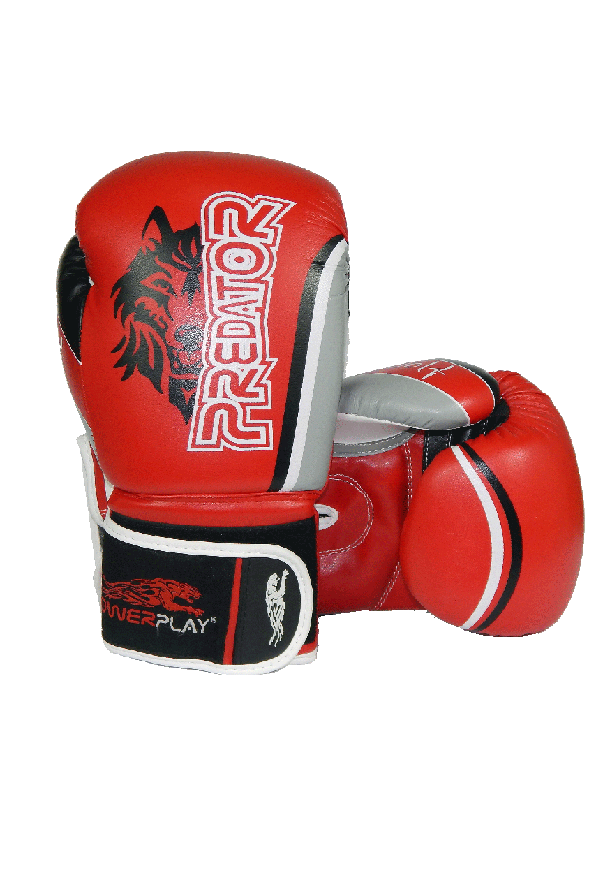 Боксерські рукавиці PowerPlay 3005 Червоні 8 унцій