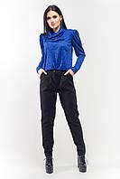 Чёрные кашемировые брюки Милли