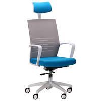 Компьютерное кресло Oxygen HB циркон/лазурь, TM AMF