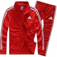 Спортивный костюм  Адидас, Adidas, красный (в стиле)