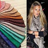 Женский шарф палантин с логотипом Louis Vuitton много цвеов, фото 6