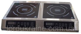 Индукционная плита 2-х конфорочная 2,8 кВт ТМ Tehma