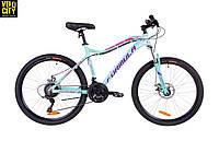 """Женский велосипед 26"""" Formula MYSTIQUE 1.0 AM DD 2019 бирюзовый"""